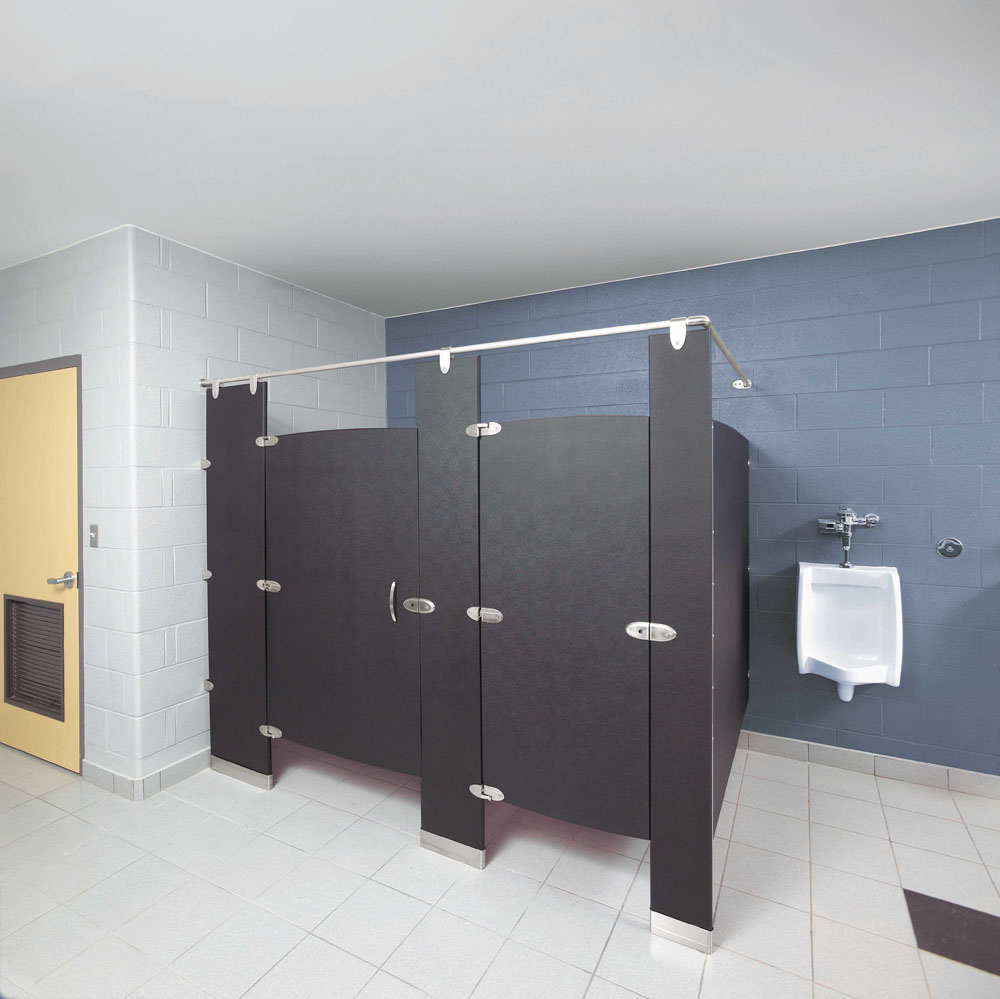 Jd specialties your home for bathroom partitions and accessories - Hadrian partition hardware ...